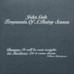 Cale, John: Fragments Of A Rainy Season (2016)