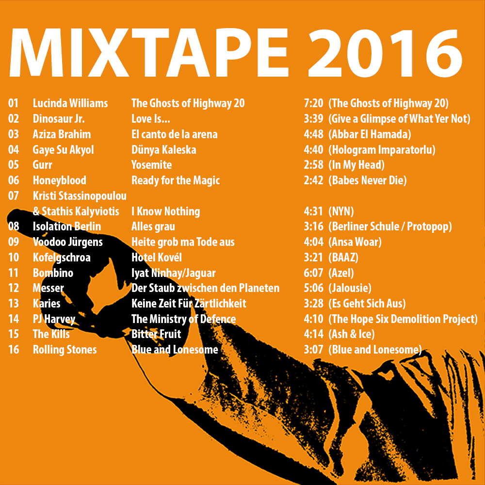 Mixtape 2016 - CD-Cover Innenseite (2016)