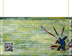 Musik zur Zeit – CD-Cover Rückseite (2018)