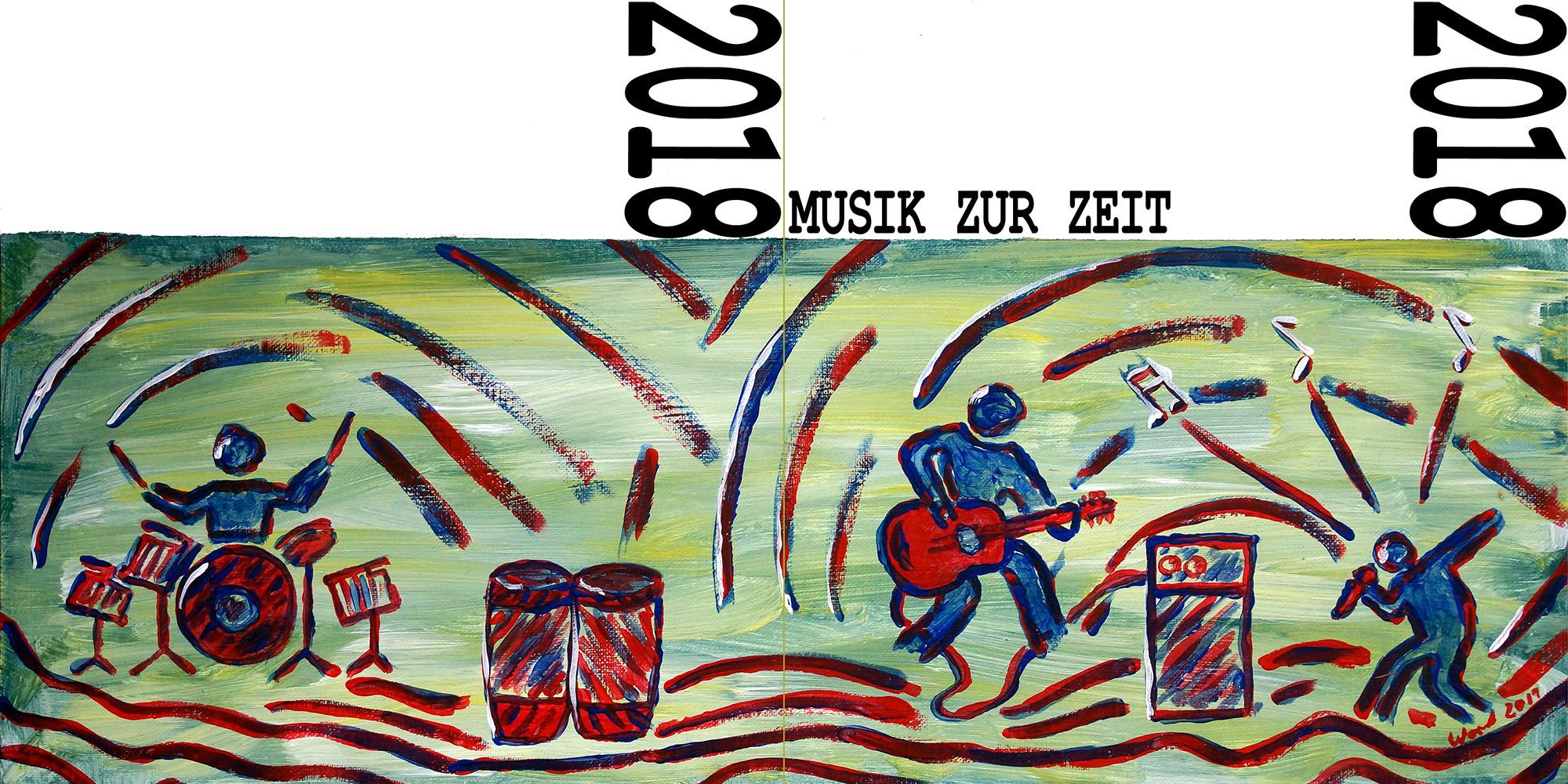 Musik zur Zeit – CD-Cover: Front- und Rückseite (2018)